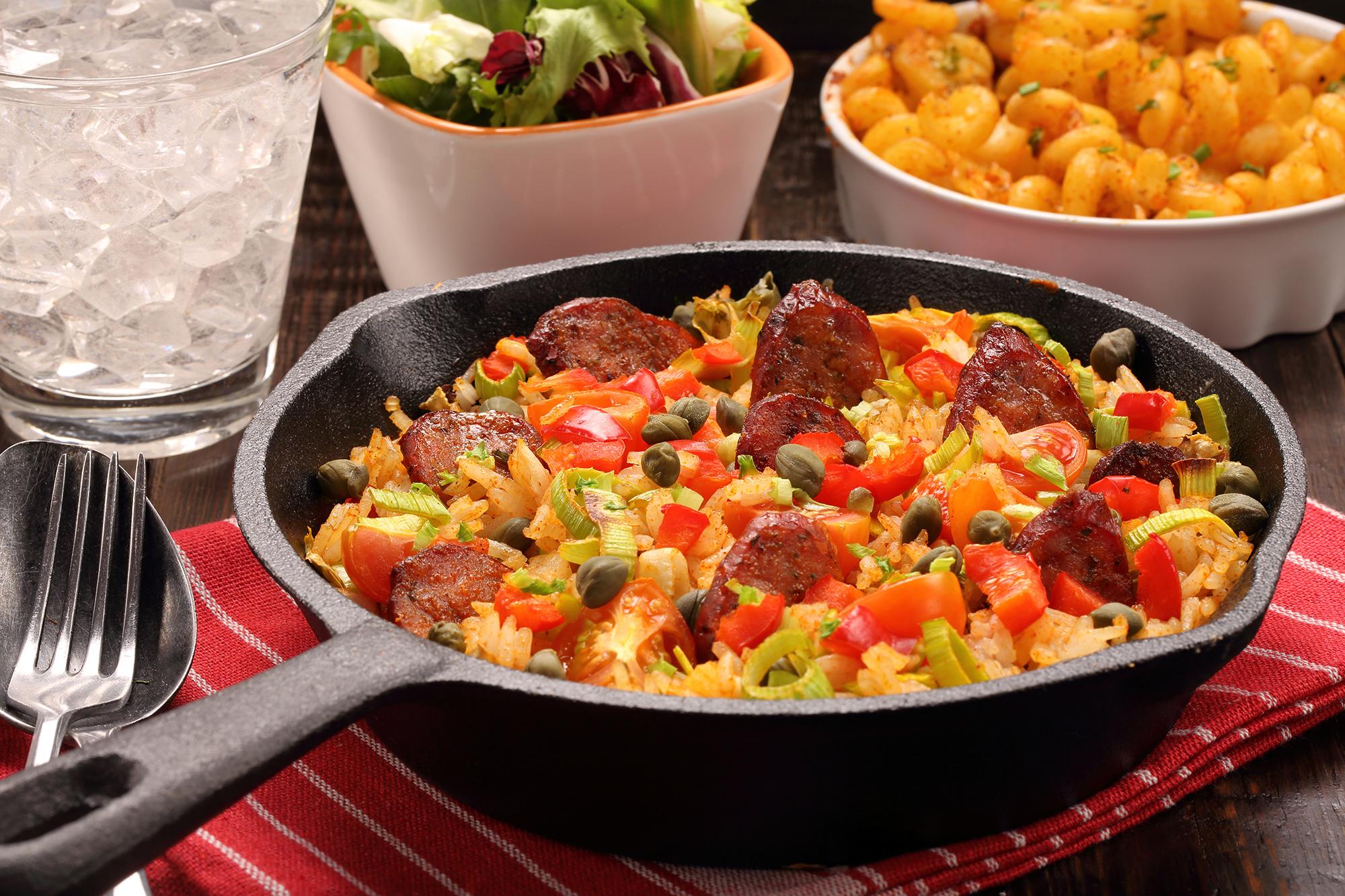 Sausage Nasi Goreng